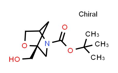 2177255-04-6 | tert-Butyl (1R)-1-(hydroxymethyl)-2-oxa-5-azabicyclo[2.2.1]heptane-5-carboxylate
