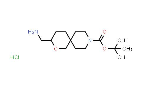 2177257-50-8 | tert-Butyl 3-(aminomethyl)-2-oxa-9-azaspiro[5.5]undecane-9-carboxylate hydrochloride