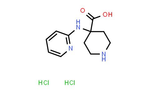 2177257-88-2 | 4-(Pyridin-2-ylamino)piperidine-4-carboxylic acid dihydrochloride