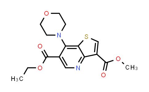 2177258-04-5   6-Ethyl 3-methyl 7-morpholinothieno[3,2-b]pyridine-3,6-dicarboxylate