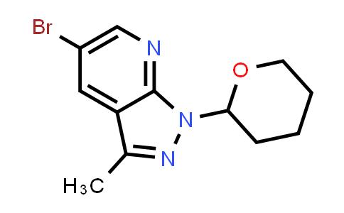 2177258-36-3 | 5-Bromo-3-methyl-1-(tetrahydro-2H-pyran-2-yl)-1H-pyrazolo[3,4-b]pyridine