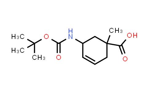 2177258-59-0   5-((tert-Butoxycarbonyl)amino)-1-methylcyclohex-3-enecarboxylic acid