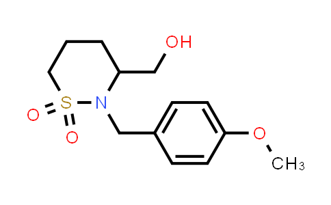 2177258-88-5 | 3-(Hydroxymethyl)-2-(4-methoxybenzyl)-1,2-thiazinane 1,1-dioxide