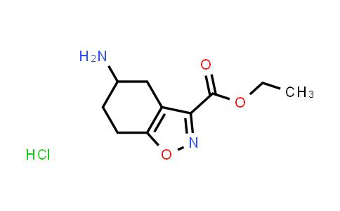 2177263-09-9 | Ethyl 5-amino-4,5,6,7-tetrahydrobenzo[d]isoxazole-3-carboxylate hydrochloride