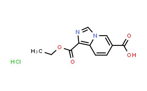 2177263-22-6   1-(Ethoxycarbonyl)imidazo[1,5-a]pyridine-6-carboxylic acid hydrochloride