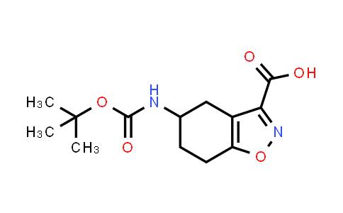 2177263-49-7 | 5-((tert-Butoxycarbonyl)amino)-4,5,6,7-tetrahydrobenzo[d]isoxazole-3-carboxylic acid