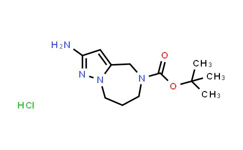 2177263-54-4 | tert-Butyl 2-amino-7,8-dihydro-4H-pyrazolo[1,5-a][1,4]diazepine-5(6H)-carboxylate hydrochloride