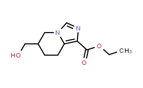2177263-81-7 | Ethyl 6-(hydroxymethyl)-5,6,7,8-tetrahydroimidazo[1,5-a]pyridine-1-carboxylate