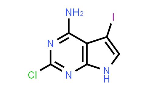 2177263-90-8 | 2-Chloro-5-iodo-7H-pyrrolo[2,3-d]pyrimidin-4-amine