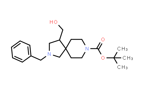 2177263-91-9   Tert-Butyl 2-Benzyl-4-(Hydroxymethyl)-2,8-Diazaspiro[4.5]Decane-8-Carboxylate
