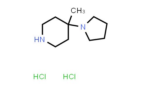 2177264-00-3 | 4-Methyl-4-(pyrrolidin-1-yl)piperidine dihydrochloride