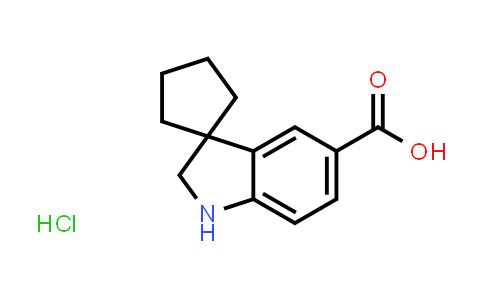 2177264-88-7 | Spiro[cyclopentane-1,3'-indoline]-5'-carboxylic acid hydrochloride