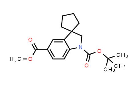 2177266-03-2 | 1'-tert-Butyl 5'-methyl spiro[cyclopentane-1,3'-indoline]-1',5'-dicarboxylate