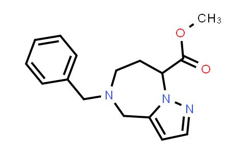 2177266-58-7   Methyl 5-Benzyl-5,6,7,8-Tetrahydro-4H-Pyrazolo[1,5-A][1,4]Diazepine-8-Carboxylate