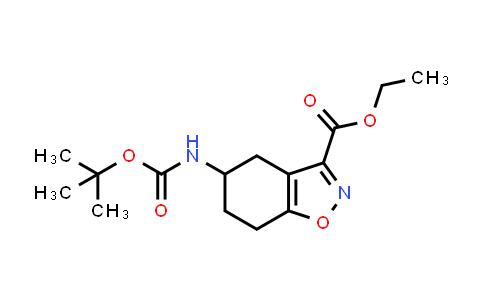 2177266-76-9   Ethyl 5-((tert-butoxycarbonyl)amino)-4,5,6,7-tetrahydrobenzo[d]isoxazole-3-carboxylate