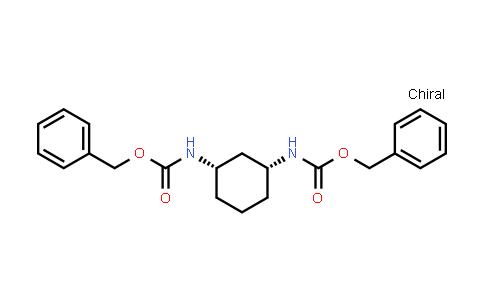 2177267-76-2   Dibenzyl (1R,3S)-cyclohexane-1,3-diyldicarbamate