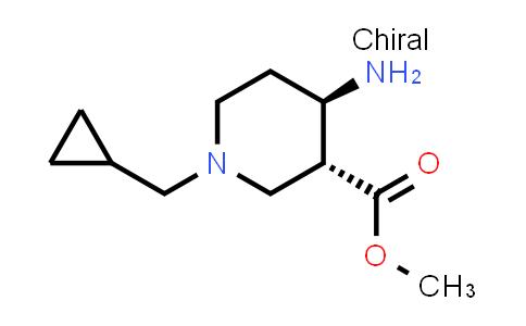 2178052-81-6 | rel-Methyl (3R,4R)-4-amino-1-(cyclopropylmethyl)piperidine-3-carboxylate