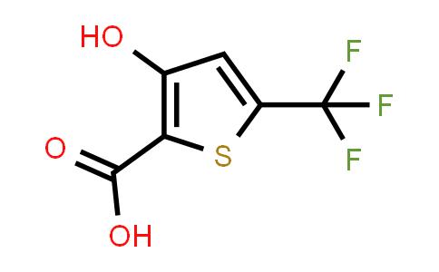 217959-85-8   3-Hydroxy-5-(trifluoromethyl)thiophene-2-carboxylic acid