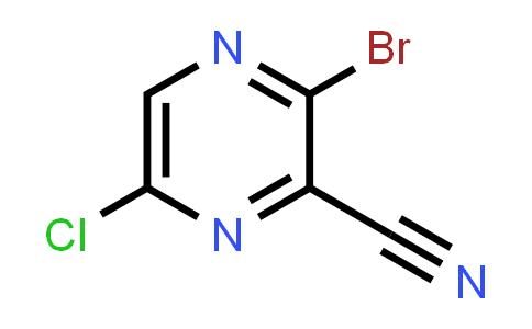 2180081-37-0 | 3-Bromo-6-chloropyrazine-2-carbonitrile