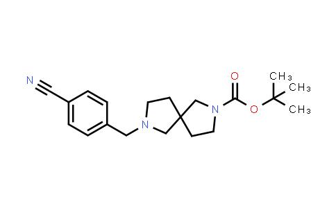 2180956-68-5 | tert-Butyl 7-(4-cyanobenzyl)-2,7-diazaspiro[4.4]nonane-2-carboxylate