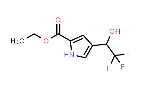 2180956-69-6   Ethyl 4-(2,2,2-trifluoro-1-hydroxyethyl)-1H-pyrrole-2-carboxylate