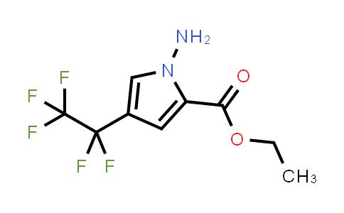 2180956-76-5 | Ethyl 1-amino-4-(perfluoroethyl)-1H-pyrrole-2-carboxylate
