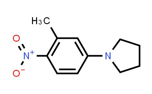 218139-59-4 | 1-(3-Methyl-4-nitrophenyl)pyrrolidine