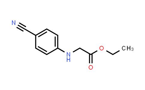 218168-58-2 | Ethyl (4-cyanophenyl)glycinate
