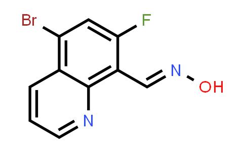 2181779-99-5   5-Bromo-7-fluoroquinoline-8-carbaldehyde oxime