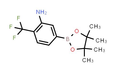 2181780-09-4   5-(4,4,5,5-Tetramethyl-1,3,2-dioxaborolan-2-yl)-2-(trifluoromethyl)aniline