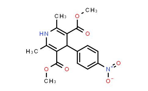 21829-09-4   Dimethyl 2,6-dimethyl-4-(4-nitrophenyl)-1,4-dihydropyridine-3,5-dicarboxylate