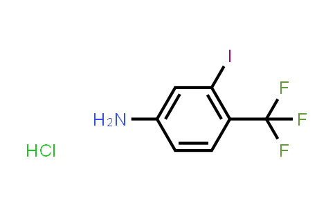 2185590-32-1 | 3-Iodo-4-(trifluoromethyl)aniline hydrochloride