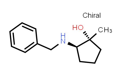 2185860-13-1   rel-(1R,2R)-2-(Benzylamino)-1-methylcyclopentan-1-ol