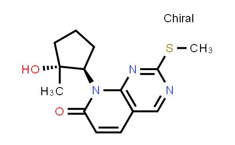 2185860-74-4 | 8-((1R,2R)-2-Hydroxy-2-methylcyclopentyl)-2-(methylthio)pyrido[2,3-d]pyrimidin-7(8H)-one