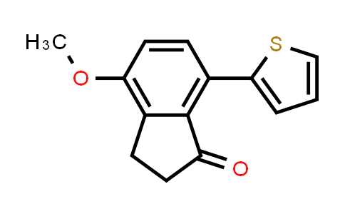 2186640-94-6   4-Methoxy-7-(thiophen-2-yl)-2,3-dihydro-1H-inden-1-one