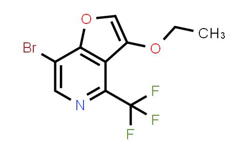 2186641-14-3   7-Bromo-3-ethoxy-4-(trifluoromethyl)furo[3,2-c]pyridine