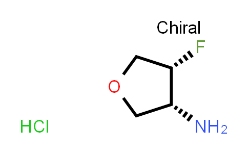 2187426-42-0 | (3R,4R)-4-Fluorotetrahydrofuran-3-amine hydrochloride