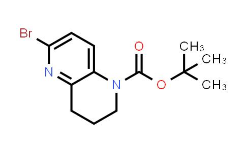2188181-83-9 | tert-Butyl 6-bromo-3,4-dihydro-1,5-naphthyridine-1(2H)-carboxylate
