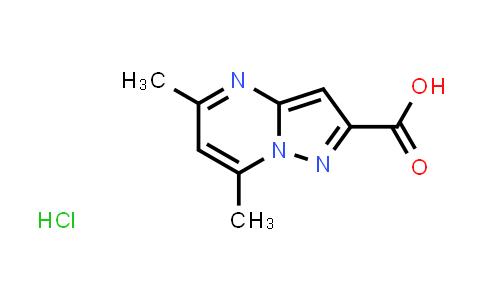 2189434-98-6 | 5,7-Dimethylpyrazolo[1,5-a]pyrimidine-2-carboxylic acid hydrochloride