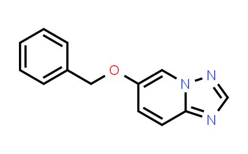 2190524-60-6 | 6-(Benzyloxy)-[1,2,4]triazolo[1,5-a]pyridine
