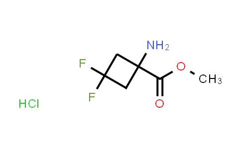 2193061-54-8   Methyl 1-amino-3,3-difluorocyclobutane-1-carboxylate hydrochloride