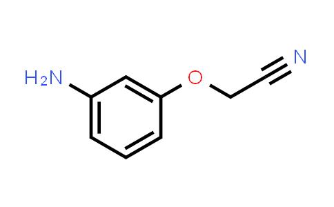 219312-01-3 | (3-Aminophenoxy)acetonitrile