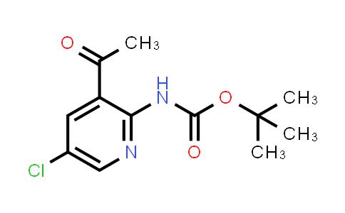 2194550-32-6 | tert-Butyl (3-acetyl-5-chloropyridin-2-yl)carbamate