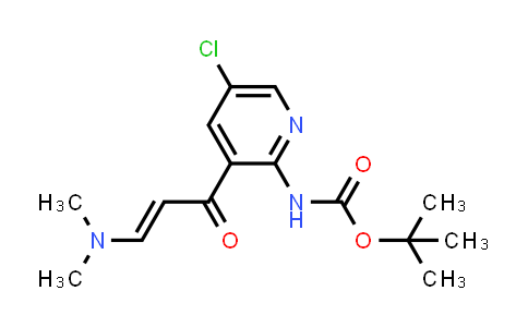 2194550-33-7 | tert-Butyl (5-chloro-3-(3-(dimethylamino)acryloyl)pyridin-2-yl)carbamate