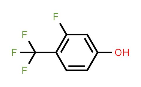 219581-07-4 | 3-Fluoro-4-(trifluoromethyl)phenol