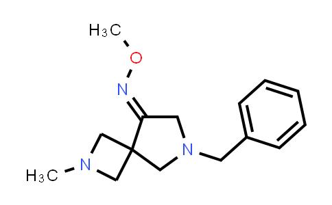 219680-72-5 | 2,6-Diazaspiro[3.4]octan-8-one, 2-methyl-6-(phenylmethyl)-, O-methyloxime