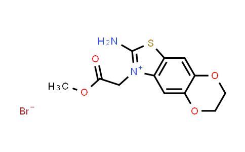 2197055-18-6   2-Amino-3-(2-methoxy-2-oxoethyl)-6,7-dihydro-[1,4]dioxino[2',3':4,5]benzo[1,2-d]thiazol-3-ium bromide