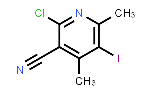 2197055-80-2   2-Chloro-5-iodo-4,6-dimethylpyridine-3-carbonitrile
