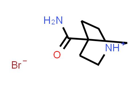 2197062-92-1 | 4-Carbamoyl-1-Azabicyclo[2.2.1]Heptan-1-Ium Bromide