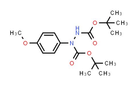 219753-93-2   Di-tert-butyl 1-(4-methoxyphenyl)hydrazine-1,2-dicarboxylate